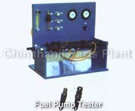 J Oil on Diesel Engine Injector Tester